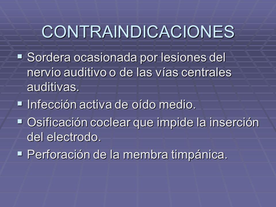 PARTES INTERNAS DEL I.C. Receptor-Estimulador. Decodifica y envía las señales eléctricas a los electrodos. Receptor-Estimulador. Decodifica y envía la