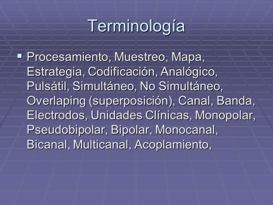 Objetivos de la Programación Activación del implante coclear. Activación del implante coclear. Seleccionar el modo y la estrategia de estimulación. Se