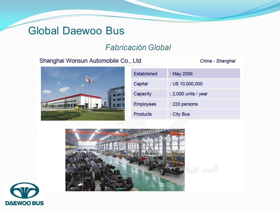 Global Daewoo Bus Fabricación Global