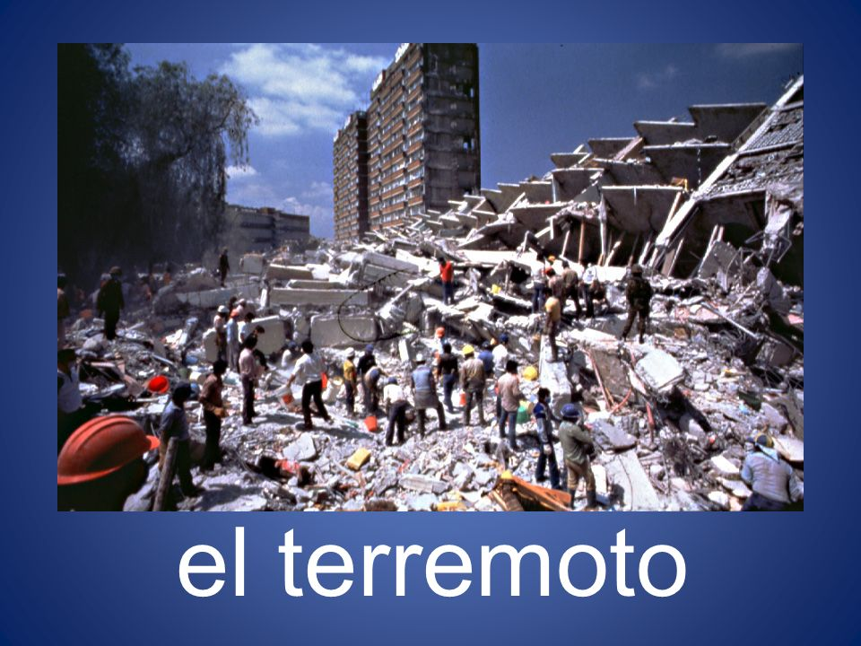 el terremoto