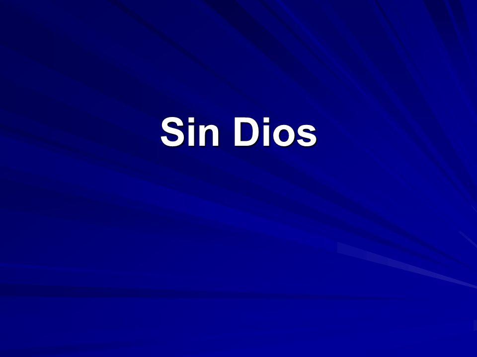 En aquel tiempo estabais sin Cristo, alejados de la ciudadanía de Israel y ajenos a los pactos de la promesa, sin esperanza y sin Dios en el mundo.