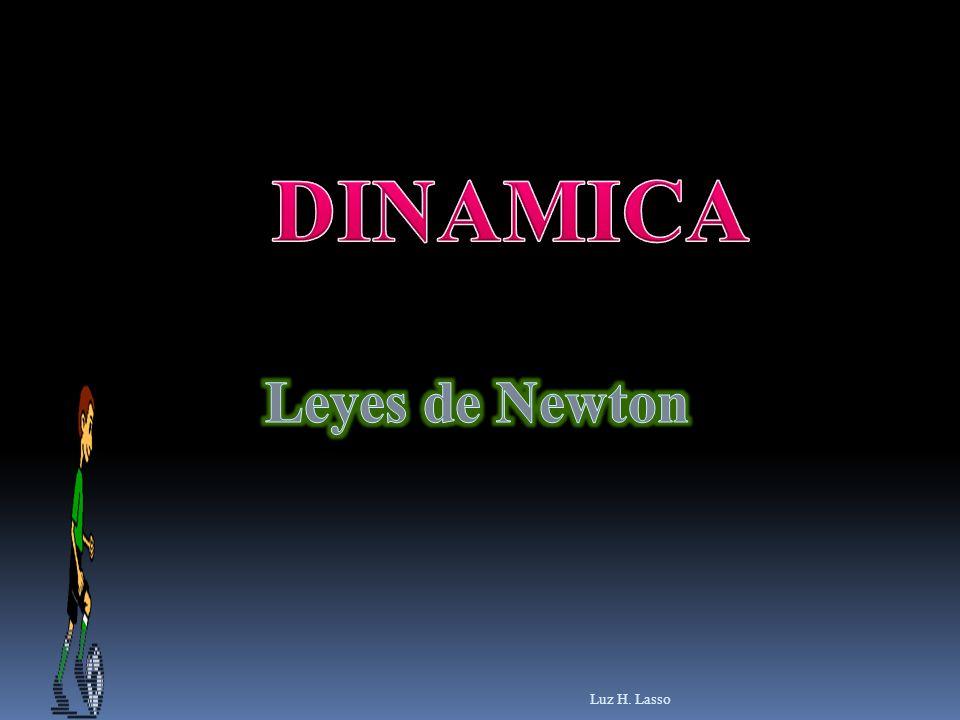 Contenido Concepto de fuerza Ejemplos de fuerzas Primera ley de Newton Inercia y masa Marco de referencia inercial Segunda ley de Newton Tercera ley de Newton Equilibrio Fuerzas de fricción Luz H.