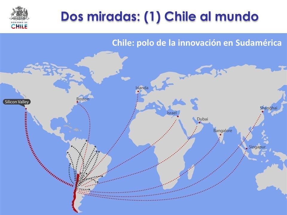 Dos miradas: (1) Chile al mundo Chile: polo de la innovación en Sudamérica