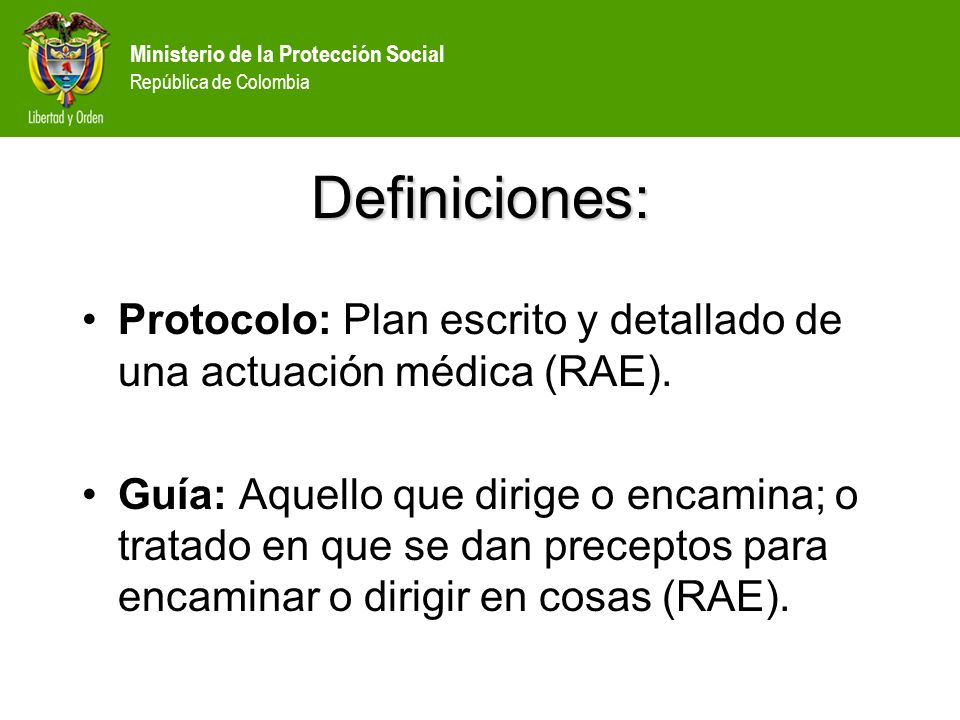 Ministerio de la Protección Social República de Colombia LOGÍSTICA SALA DE RECEPCIÓN: Preparar una sala para brindar acogida a los liberados que tenga: Sillas confortables.