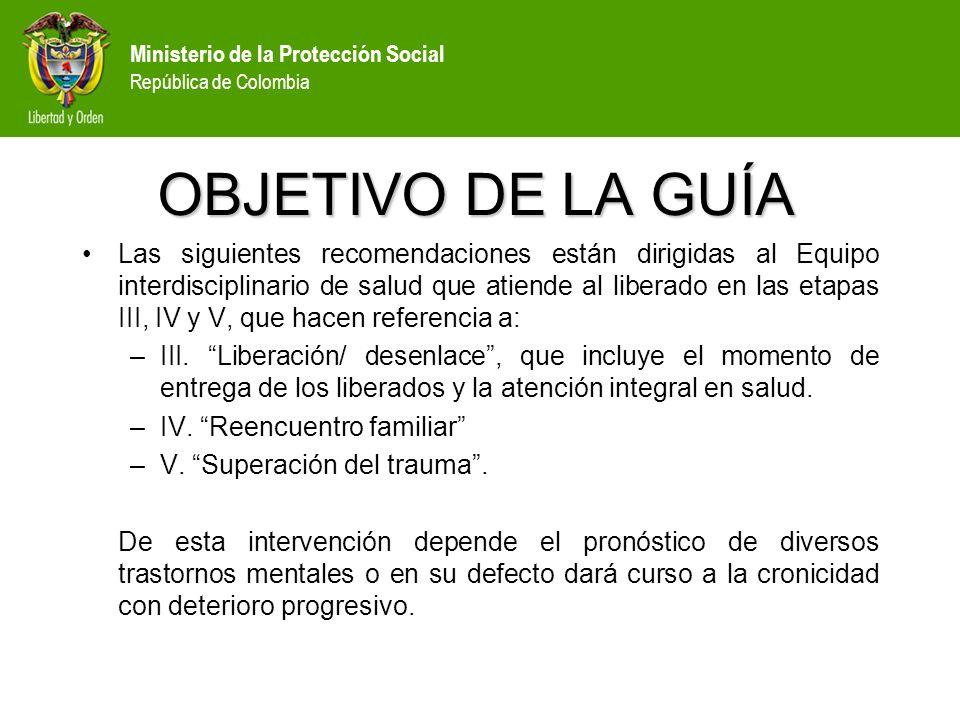 Ministerio de la Protección Social República de Colombia LOGÍSTICA: OTRAS ACTIVIDADES: Garantizar integralidad y continuidad en la Atención en salud.