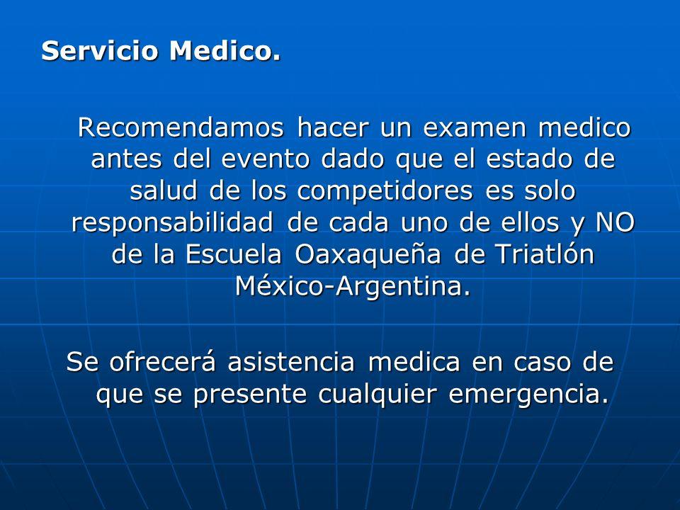 Servicio Medico.