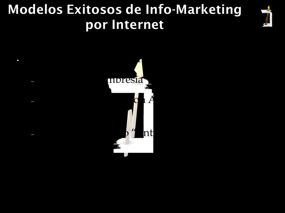 Modelos Exitosos de Info-Marketing por Internet Modelo de Lanzamiento Gratuito + Árbol de Ofertas.