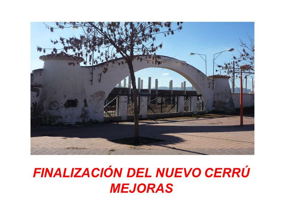 ENUMERACIÓN DE LAS MEJORAS 1 Construcción de un campo de césped artificial.