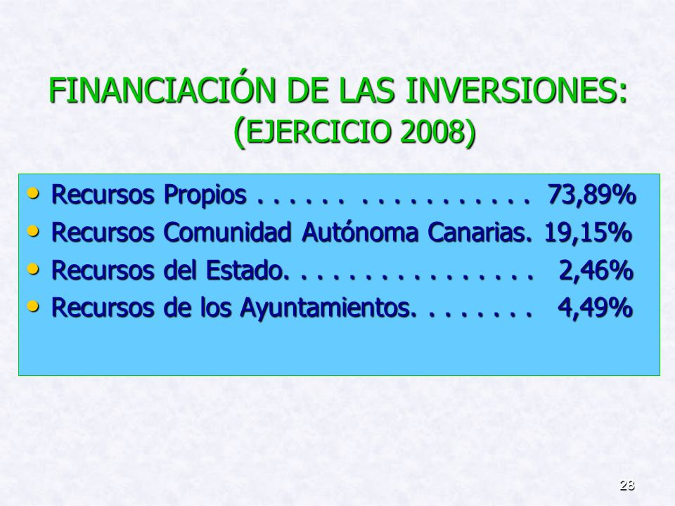 27 PLAN DE INVERSIONES: (4)