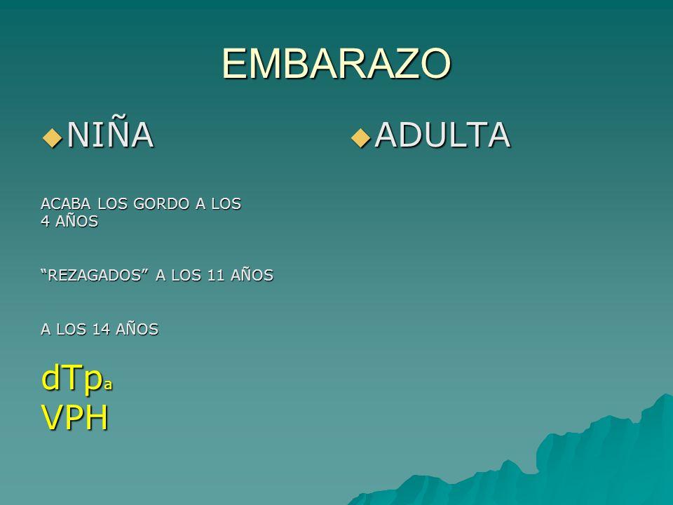 CASO:EMBARAZO INDICACIONES INDICACIONES (ADULTO SANO) GRIPENEUMOCOCOVHBPROFESIONAL CONTRAINDICAC IONES CONTRAINDICAC IONESATENUADAS!!!!!3VVVZ