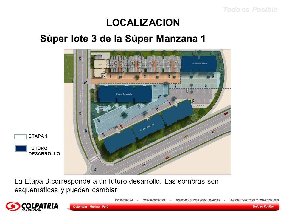 Todo es Posible Alternativas TORRE TIPO Y APARTAMENTOS Tipo A-2 Apartamento Medianero Opción Básica Área Construida Vivienda 50,53 m2