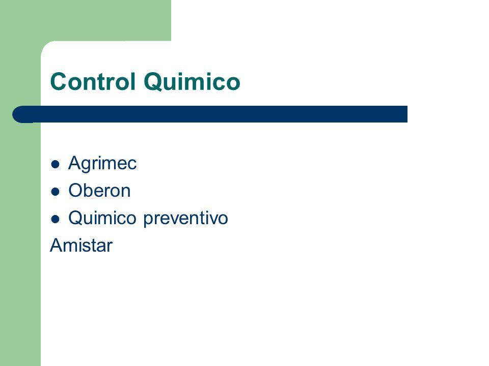 Control Quimico Agrimec Oberon Quimico preventivo Amistar