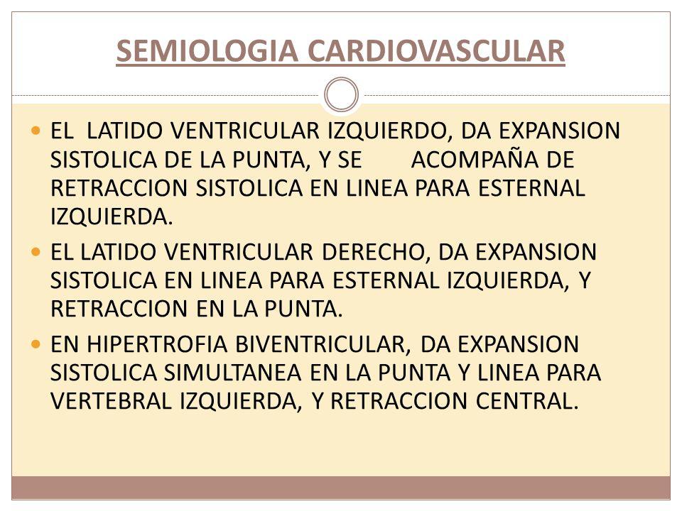 SEMIOLOGIA CARDIOVASCULAR.2. PULSO PEQUEÑO Y CELER.