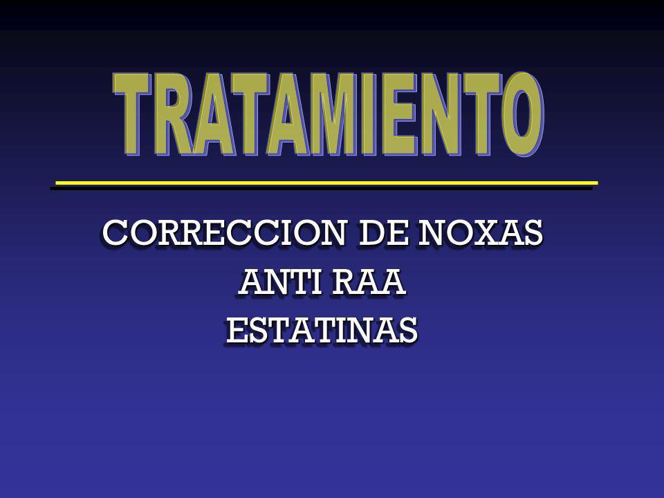 CORRECCION DE NOXAS ANTI RAA ESTATINAS CORRECCION DE NOXAS ANTI RAA ESTATINAS
