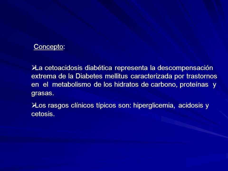 Factores Predisponentes: Característicos en Diabetes mellitus tipo I.