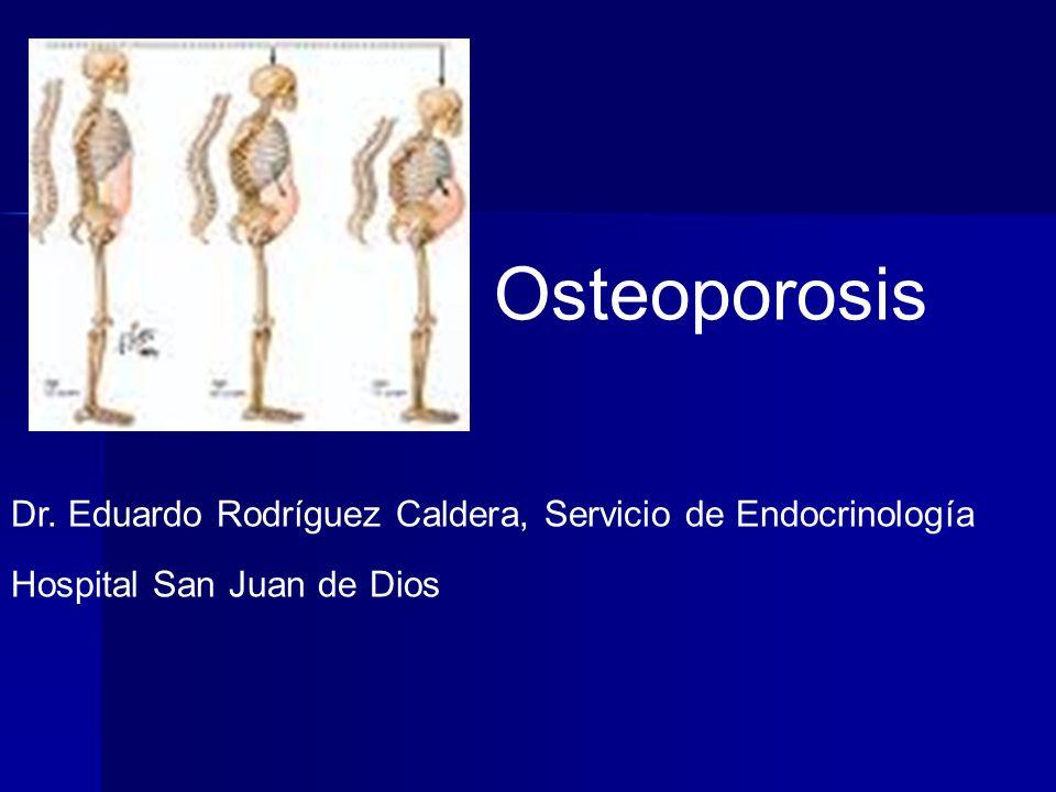Osteoporosis La osteoporosis es la enfermedad metabólica ósea más común.