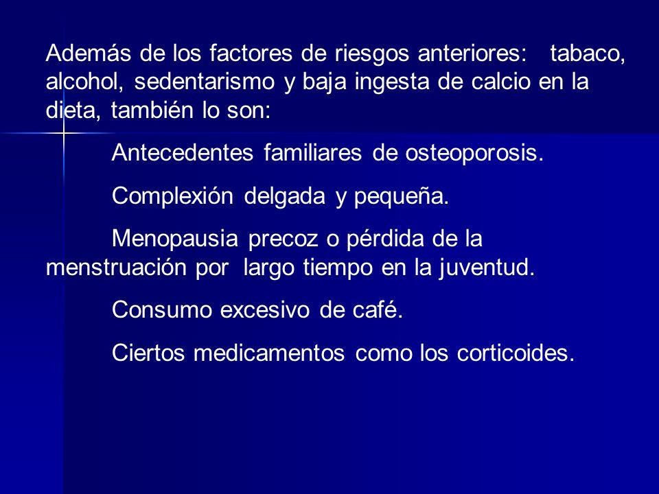 La osteoporosis es importante por su elevada frecuencia y por los costes que conlleva.