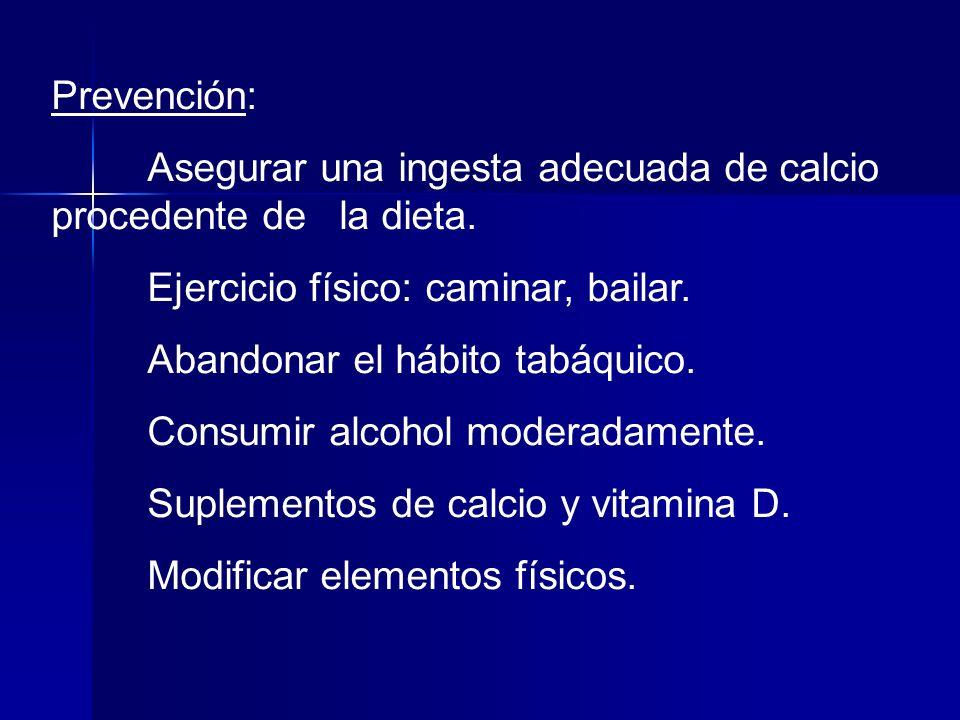 Dieta equilibrada: Ingesta recomendada de calcio en la dieta: 10-24 años: 1.200 mg/día.
