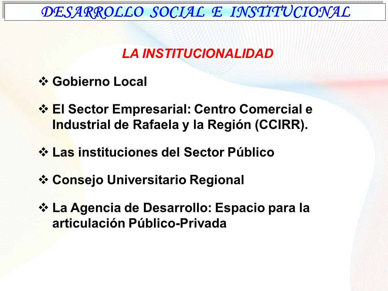 Rafaela: Desarrollo Económico ASPECTOS GENERALES a)Esfuerzos públicos y privados, en el Apoyo al Desarrollo Productivo de la ciudad b)Entes oficiales, Sector privado, Sistema educativo y Científico tecnológico.