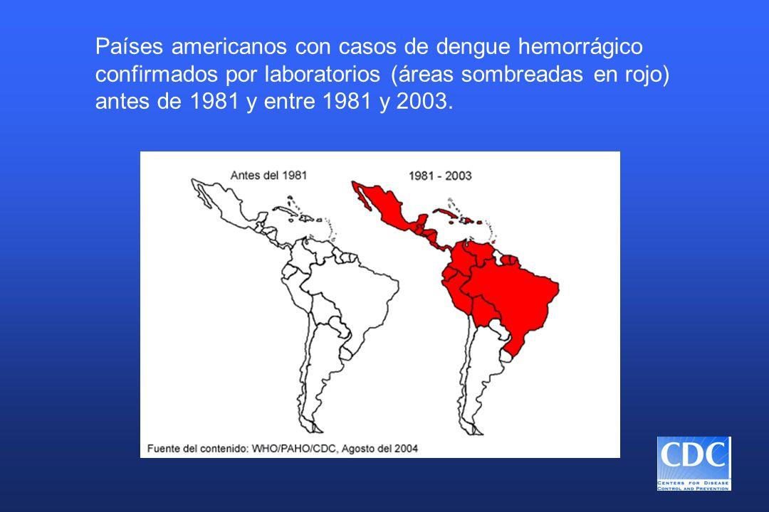 Tratamiento de la fiebre de dengue n Líquidos n Reposo n Antipiréticos (evitar la aspirina y los fármacos anti-inflamatorios no esteroidales) n Vigilar la presión sanguínea, hematócrito, conteo de plaquetas, nivel de conciencia