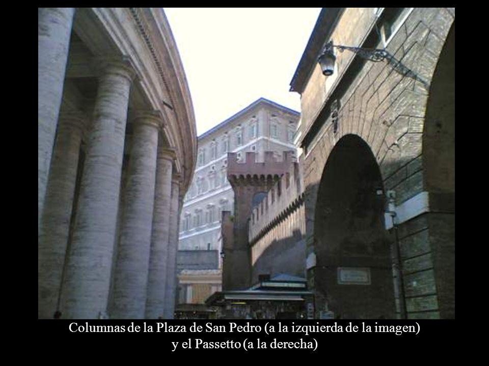 La entrada del Passetto en el Castillo Sant'Angelo