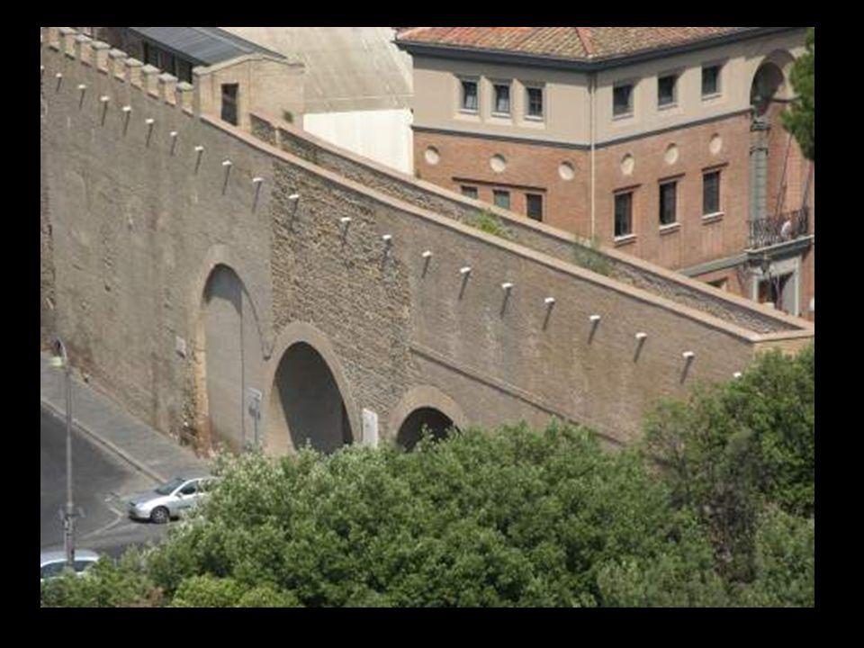 Sur del Passetto, hacia el Vaticano