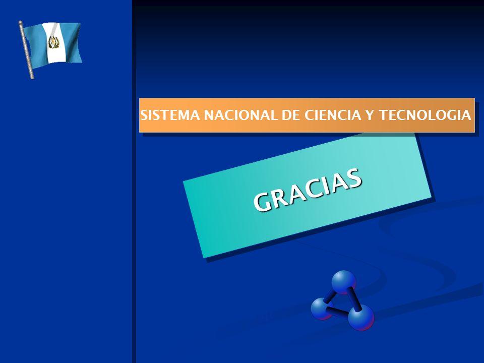 01/01/2014 GRACIAS SISTEMA NACIONAL DE CIENCIA Y TECNOLOGIA www.concyt.gob.gt