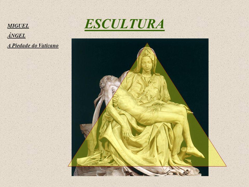 MIGUEL ÁNGEL A Piedade do Vaticano ESCULTURA