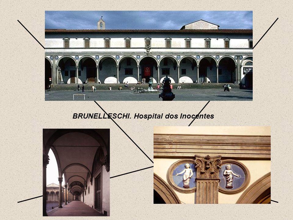 PERSPECTIVA BRUNELLESCHI. Hospital dos Inocentes