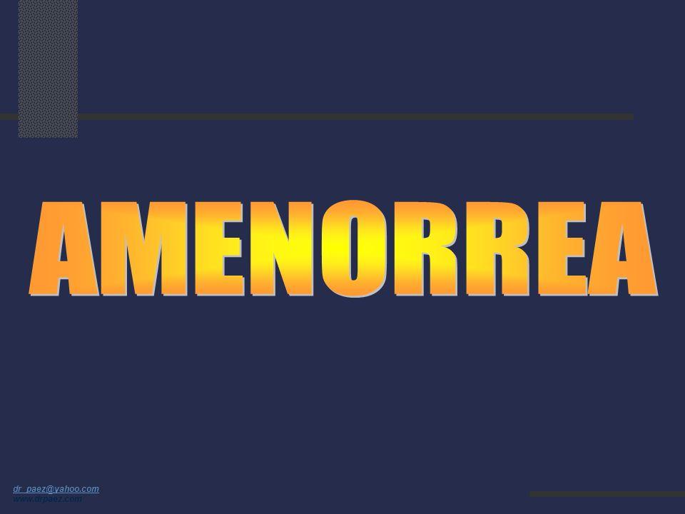 dr_paez@yahoo.com dr_paez@yahoo.com www.drpaez.com Otras Causas de Dismenorrea Producción excesiva de prostaglandinas Desbalance hormonal Retención de