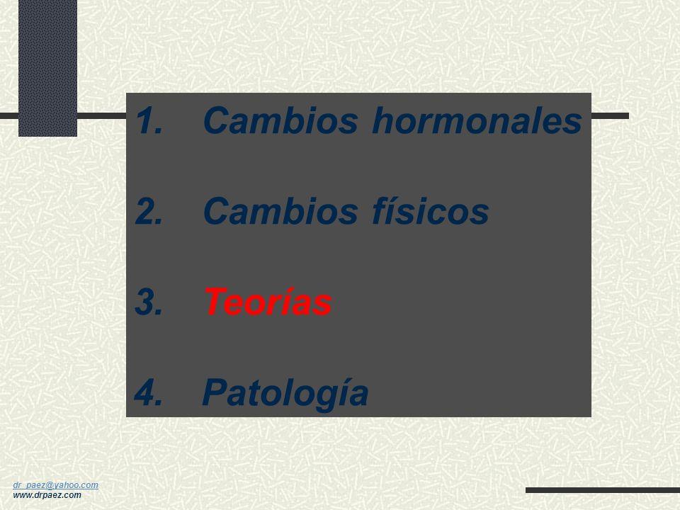 dr_paez@yahoo.com dr_paez@yahoo.com www.drpaez.com Relación Entre el Crecimiento y Otros Cambios en la Pubertad