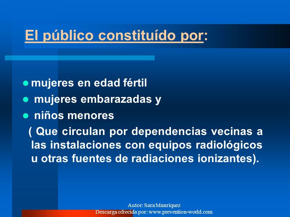 Autor: Sara Manríquez Descarga ofrecida por: www.prevention-world.com ¿QUIENES ESTAN EXPUESTOS A RADIACIONES IONIZANTES ? Los trabajadores Que operan
