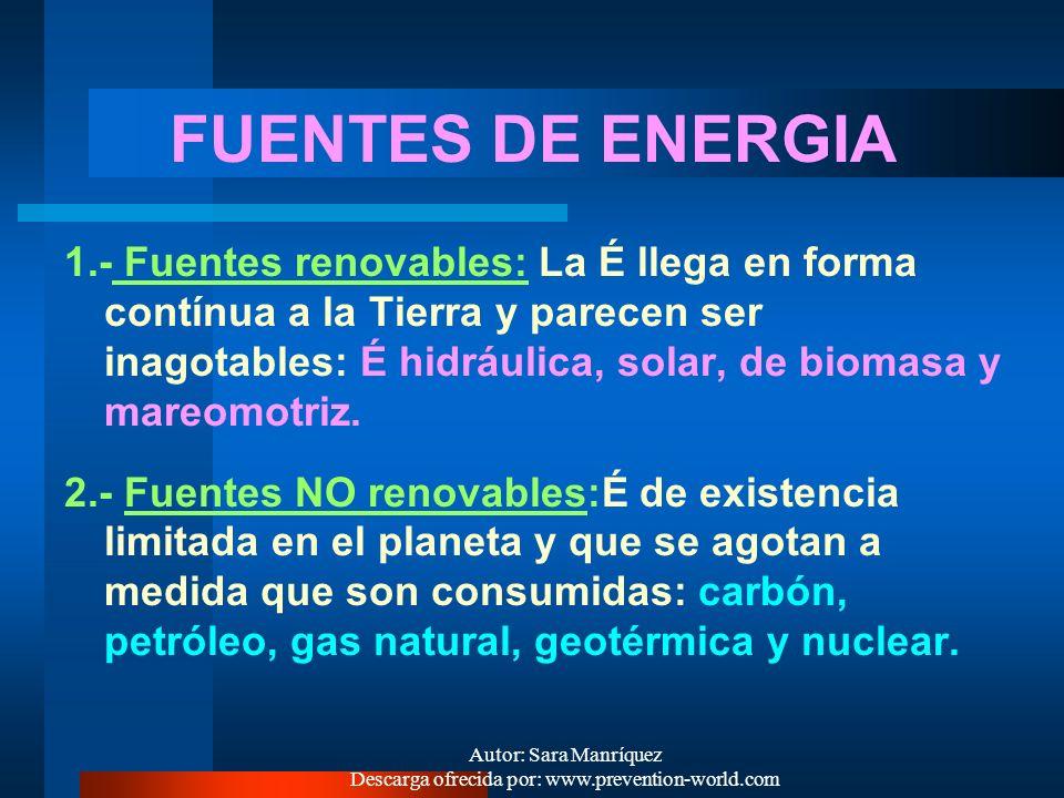 Autor: Sara Manríquez Descarga ofrecida por: www.prevention-world.com - É QUÍMICA: Energía asociada a enlaces químicos, como son la unión de los átomo
