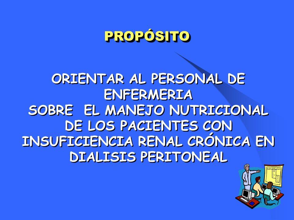 ETIOLOGIA DE DNT PROTEICO - CALORICA I.INADECUADA INGESTA DIETARIA: Uremia Impacto de DP.