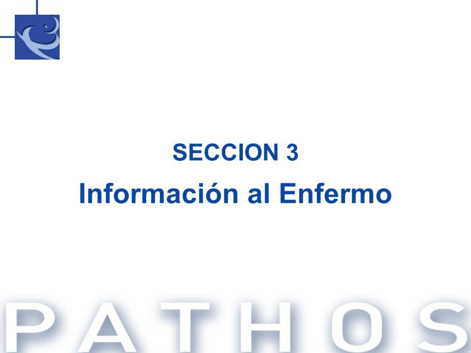 SECCION 3 Información al Enfermo