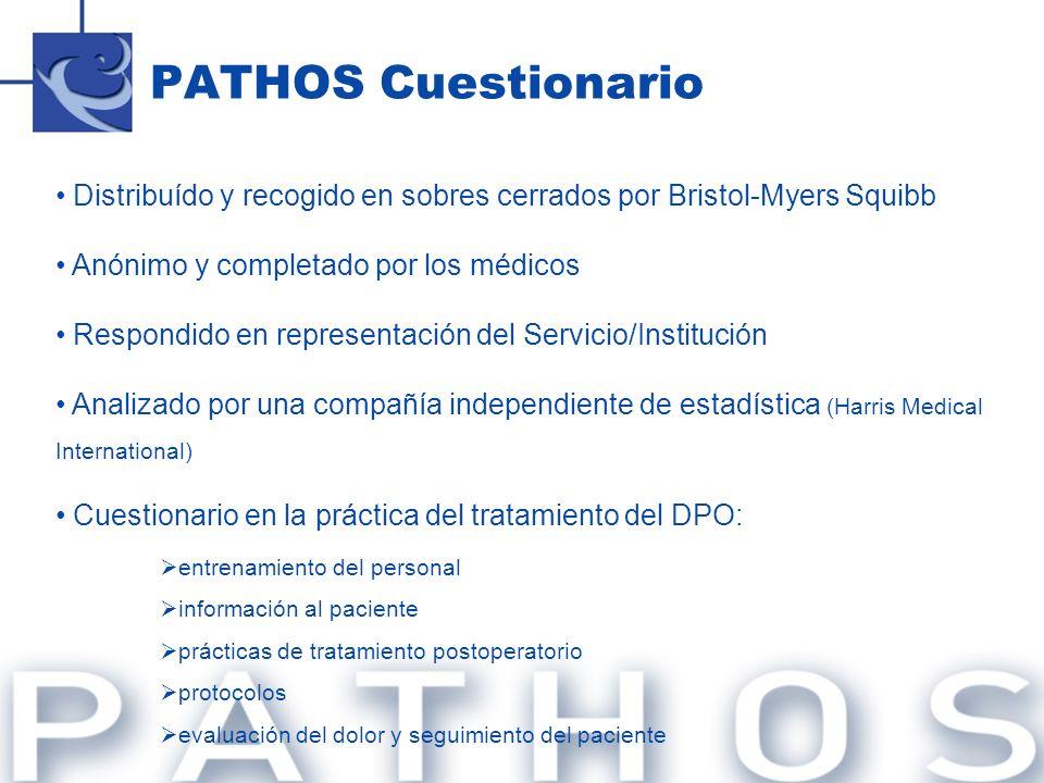 Q.10 – ¿En su Hospital se informa a los pacientes en el preoperatoriosobre el tratamiento del DPO.