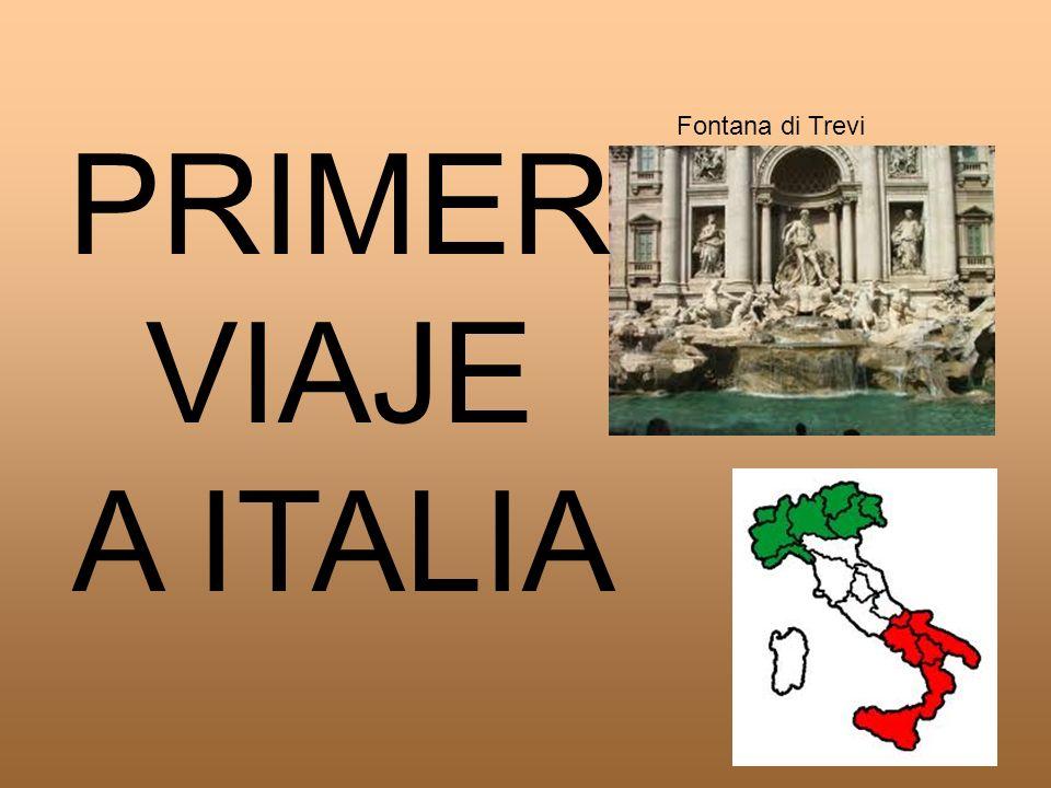 PRIMER VIAJE A ITALIA Fontana di Trevi