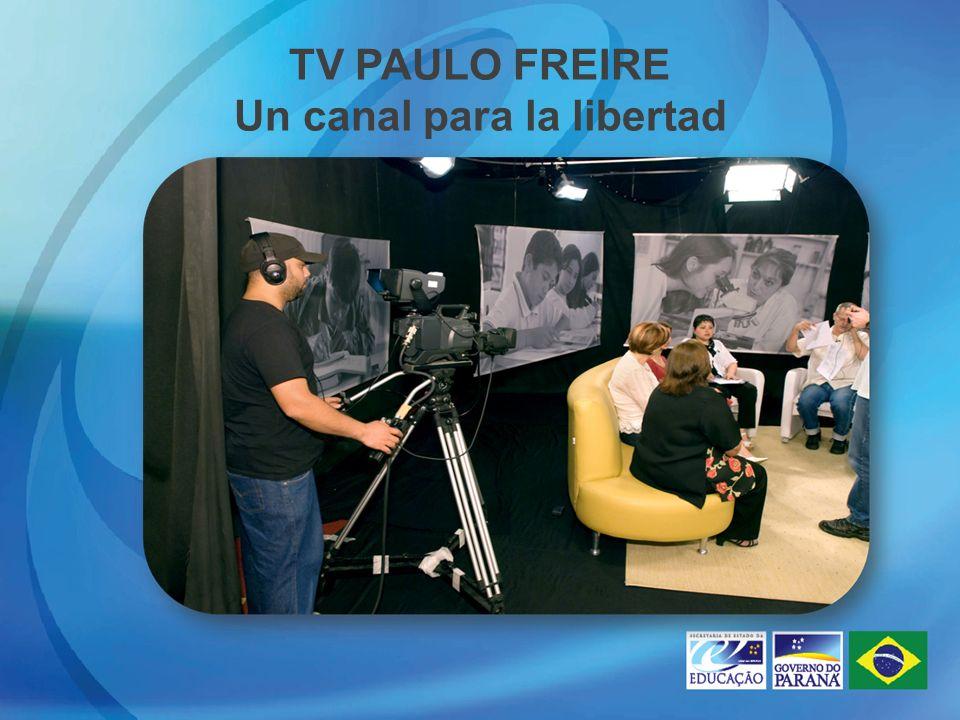 TV PAULO FREIRE Un canal para la libertad