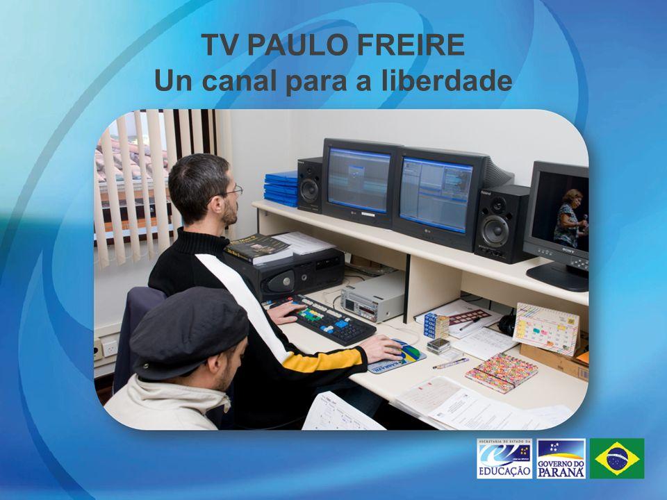 TV PAULO FREIRE Un canal para a liberdade