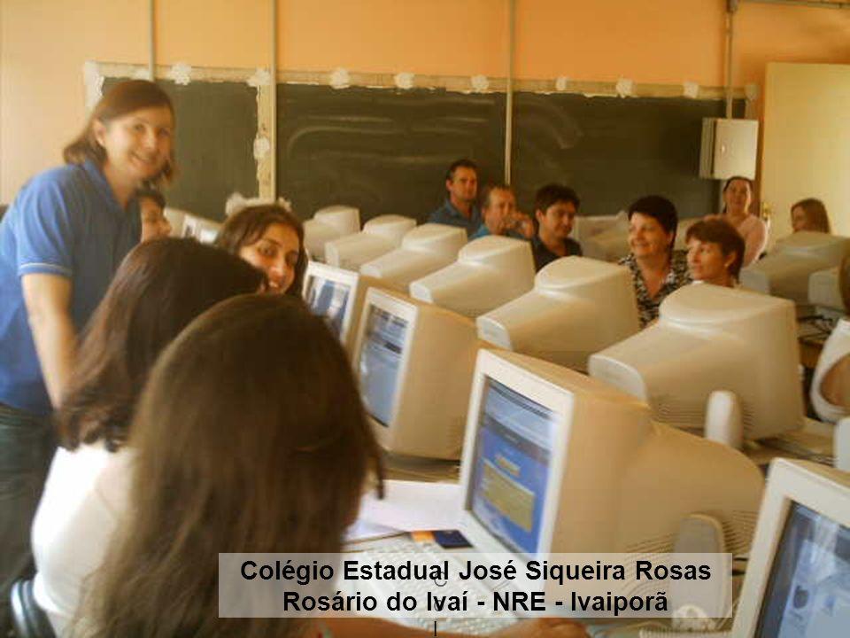 Colégio Colégio Colégio Estadual José Siqueira Rosas Rosário do Ivaí - NRE - Ivaiporã
