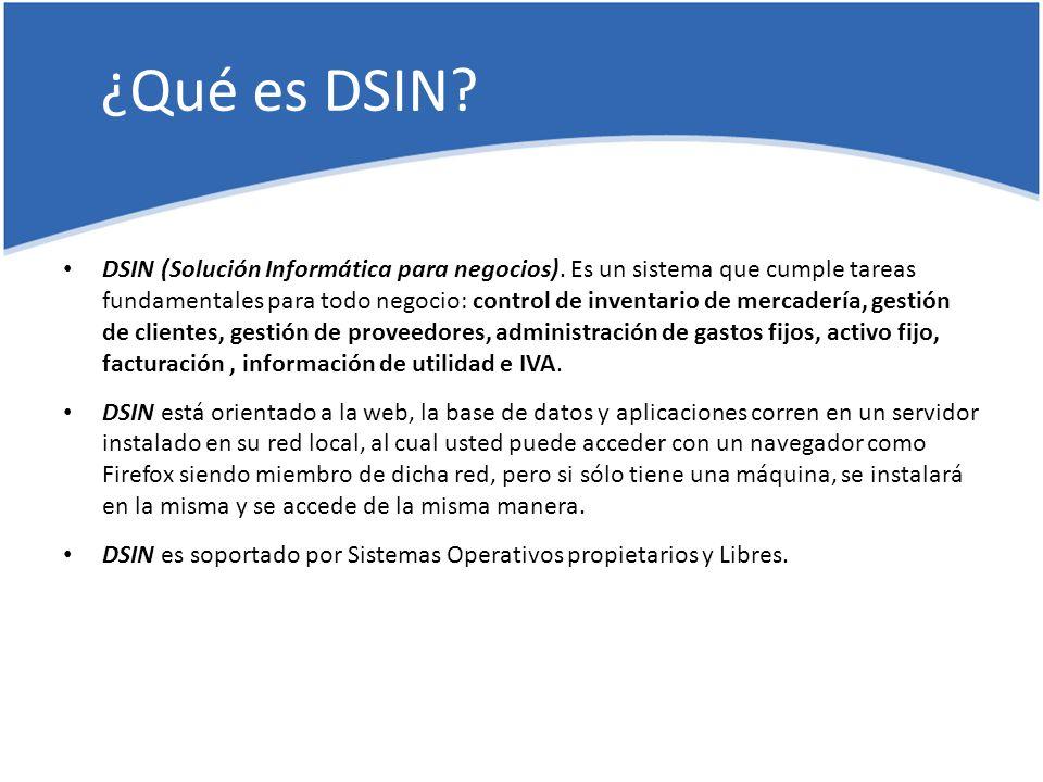 ¿Qué es DSIN. DSIN (Solución Informática para negocios).