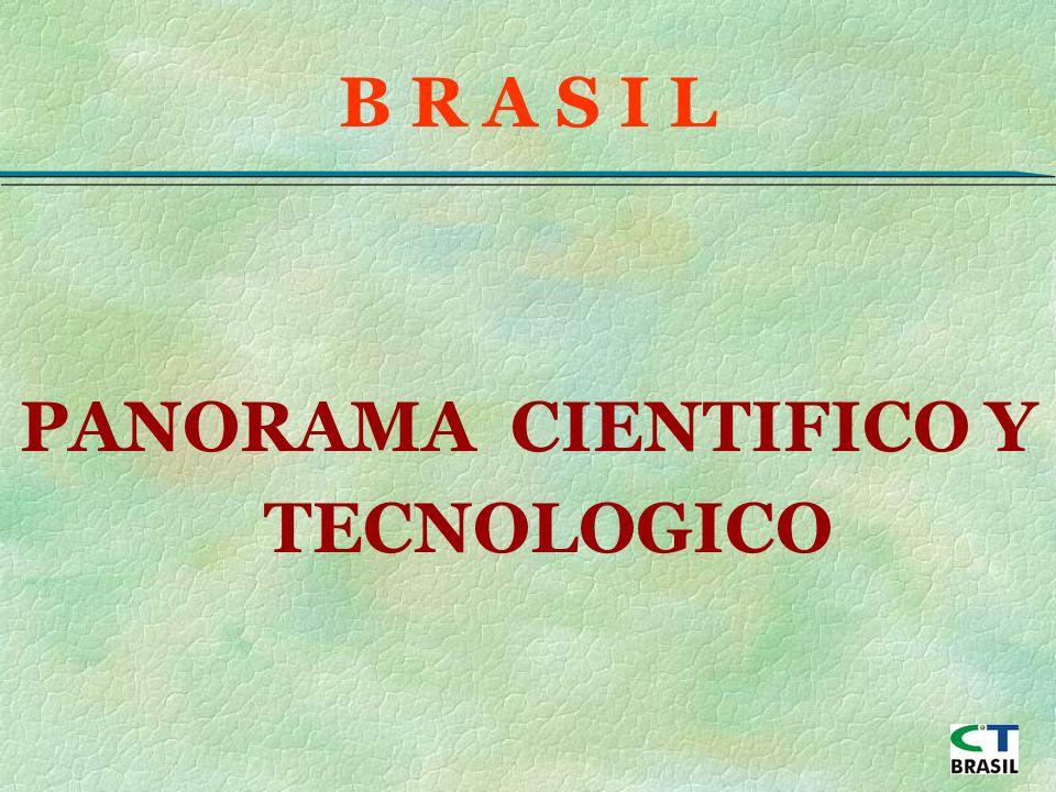 PANORAMA CIENTIFICO Y TECNOLOGICO B R A S I L