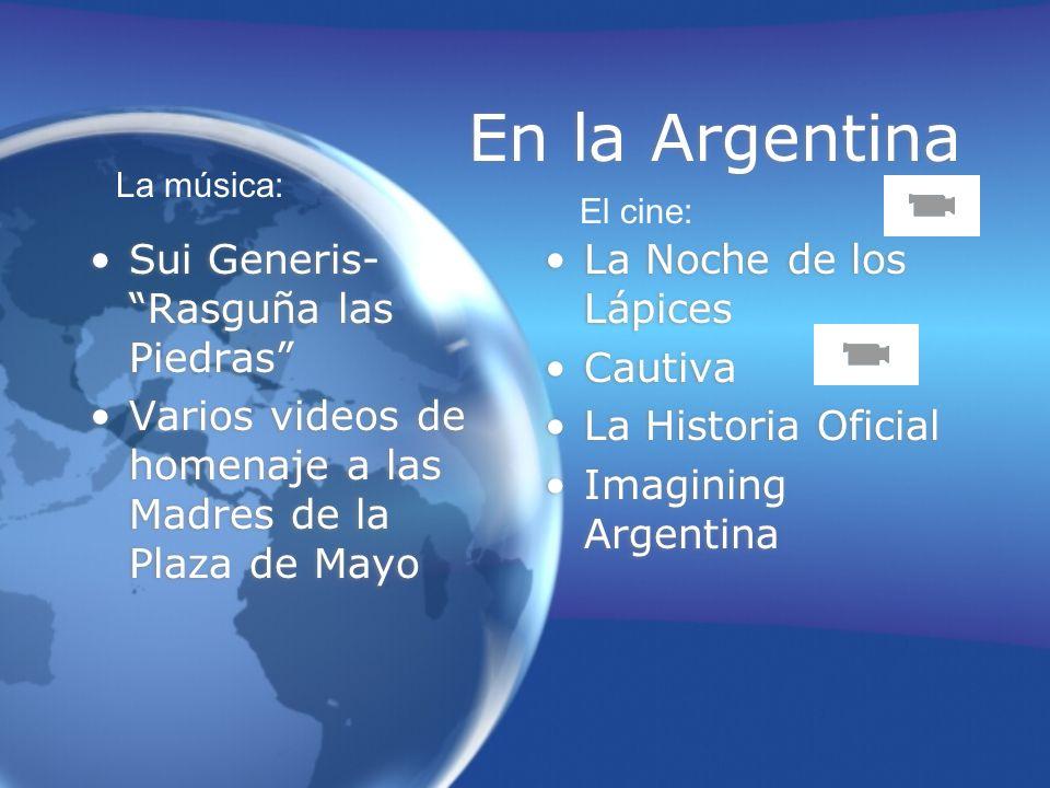 En la Argentina Sui Generis- Rasguña las Piedras Varios videos de homenaje a las Madres de la Plaza de Mayo Sui Generis- Rasguña las Piedras Varios vi