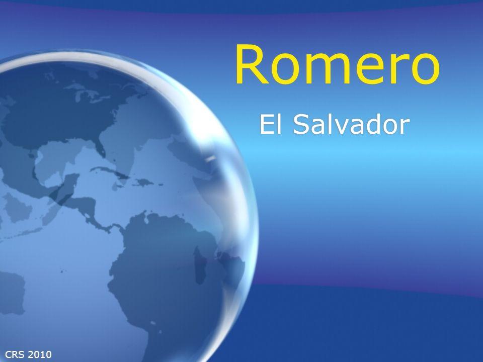 CRS 2010 Romero El Salvador