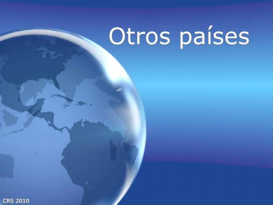 CRS 2010 Otros países