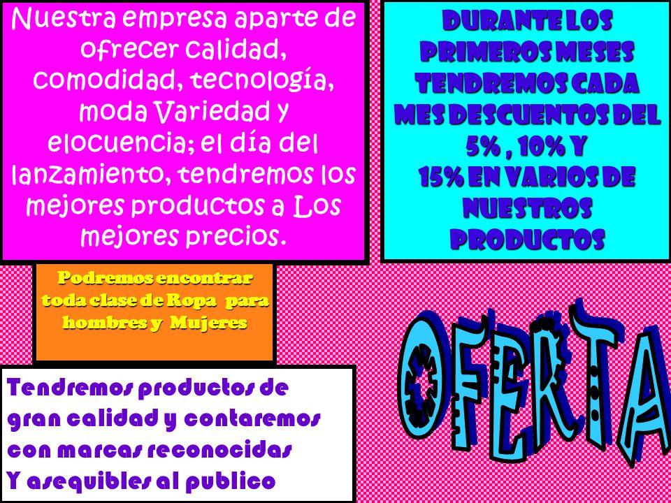 La empresa ANJOPANA LTDA. costa de un punto de venta, el cual se encuentra En un buen sitio de Bogotá, para que a las personas que desean adquirir Nue