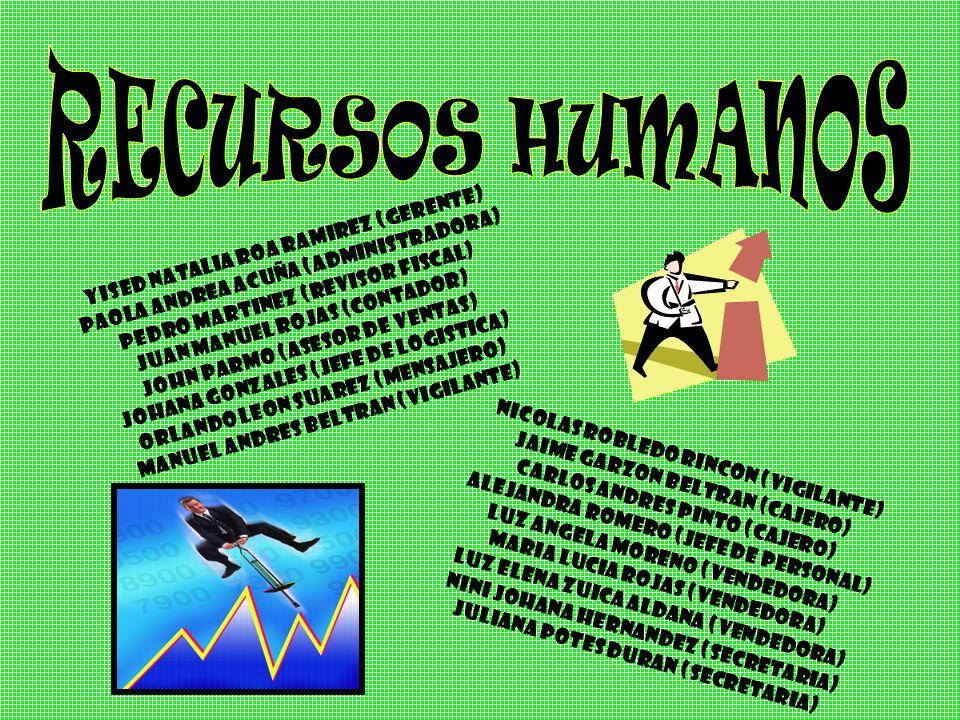 ETICA RESPONSABILIDAD CREATIVIDAD LIDERAZGO EFICIENCIA LEALTAD CALIDAD