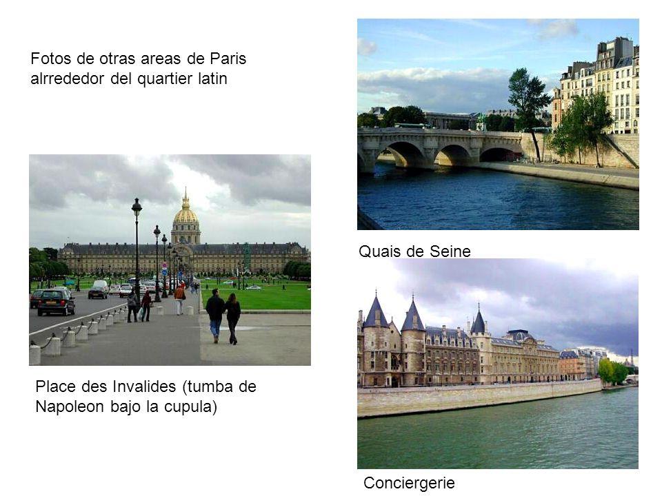 HISTOIRE: Desde el siglo XIIIe, le Quartier Latin (Fraccionamientos V y VI) son el centro de las universidades y colegios Parisinos.