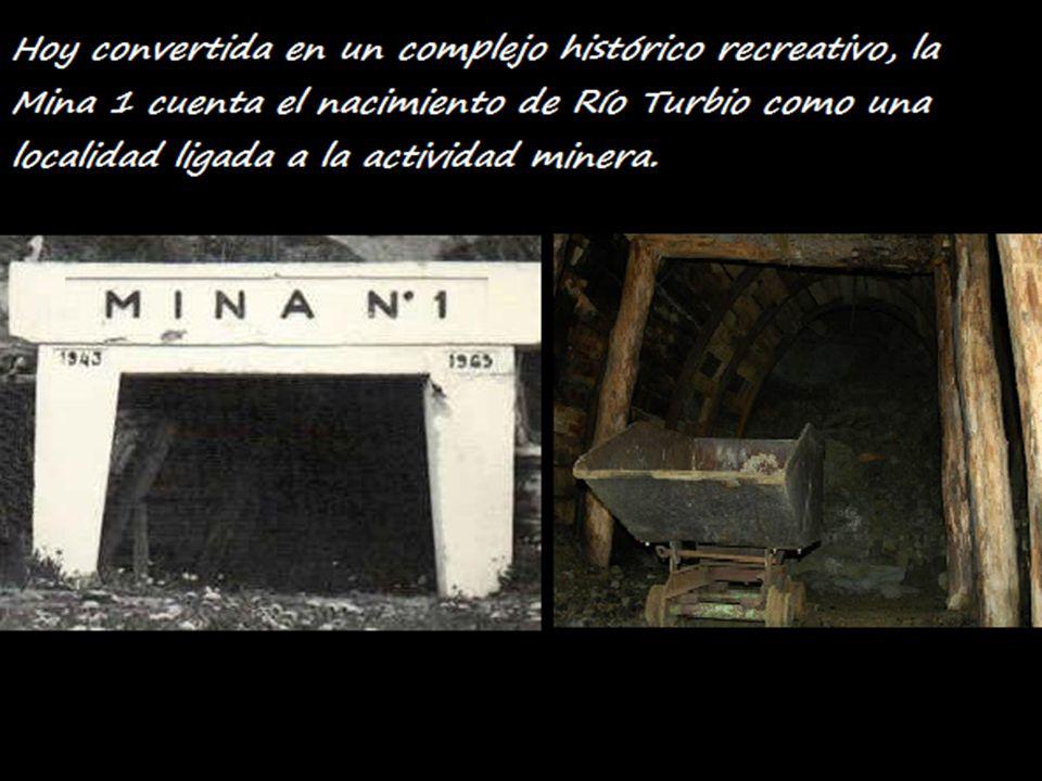 Hoy convertida en un complejo histórico recreativo, la Mina 1 cuenta el nacimiento de Río Turbio como una localidad ligada a la actividad minera. C:\U