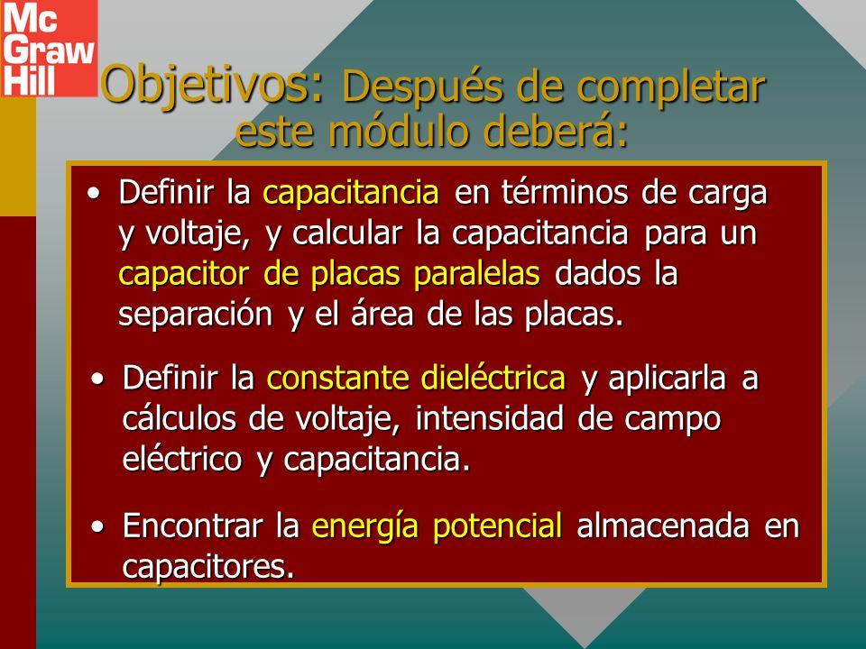 Capítulo 26A - Capacitancia Presentación PowerPoint de Paul E. Tippens, Profesor de Física Southern Polytechnic State University © 2007